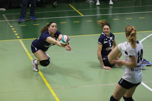 Volley: Clai sotto 3-1 ai play-off