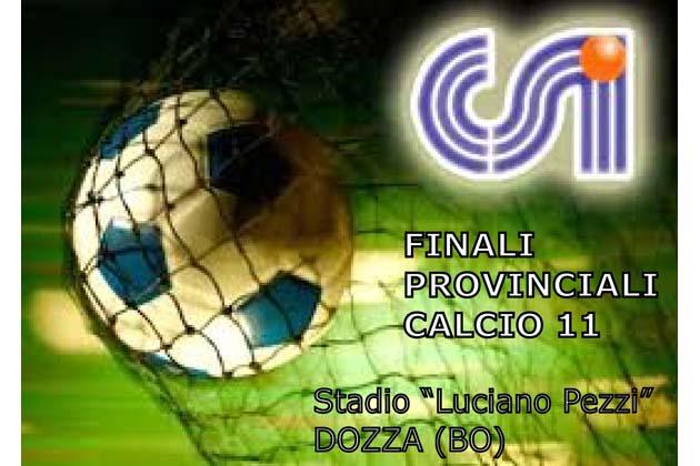 Calcio: finali Provinciali Csi a Dozza
