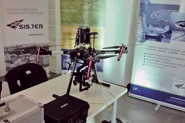 Droni e satelliti per l'agricoltura