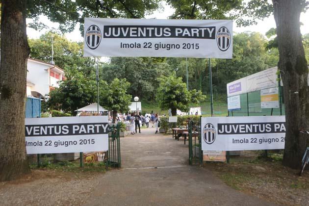 Juventus Party, 200 ospiti al Cacciari