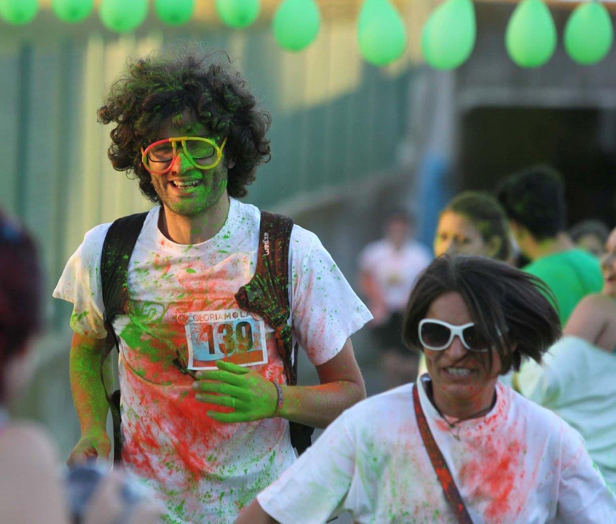 Felici e colorati, di corsa o camminando