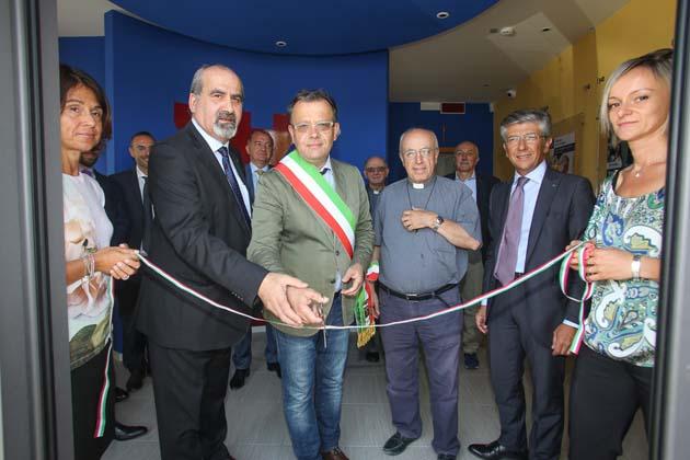 Un nuovo bancomat Bcc a Osteria