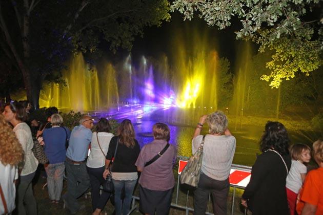 San Bartolomeo, fontane di luce e acqua