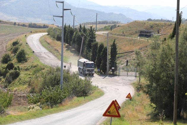 300.000 euro per le strade della discarica