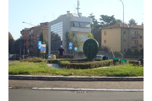 Rotary, una scultura sulla rotonda