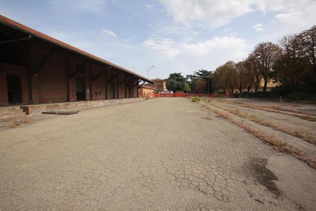 Bici e auto nell'ex scalo merci, il progetto