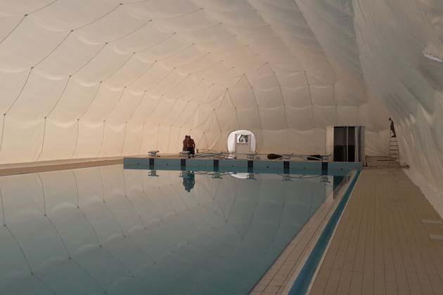 Medicina, in piscina anche d'inverno