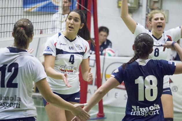 Volley B2: Clai ancora senza punti