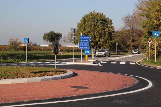Terminata la rotonda Correcchio-Lasie