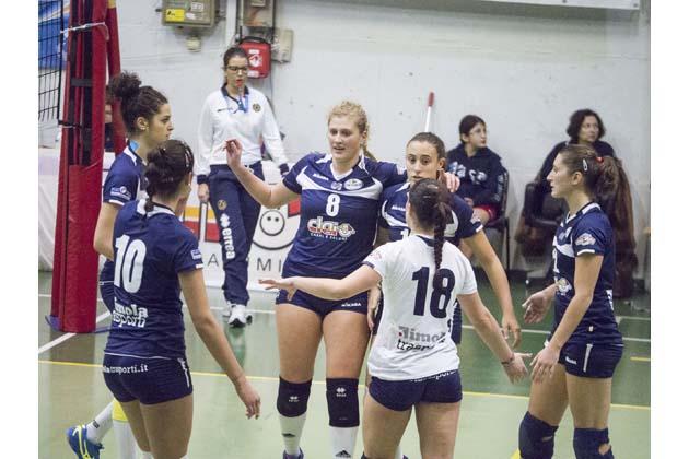 Volley B2: una Clai da zero su 4