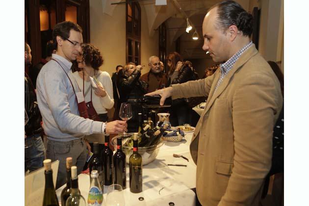 Baccanale con assaggio di vini