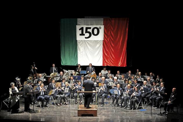 La banda suona per Santa Cecilia