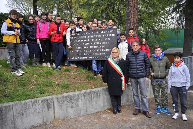 I centri sportivi dedicati a Vito Salieri