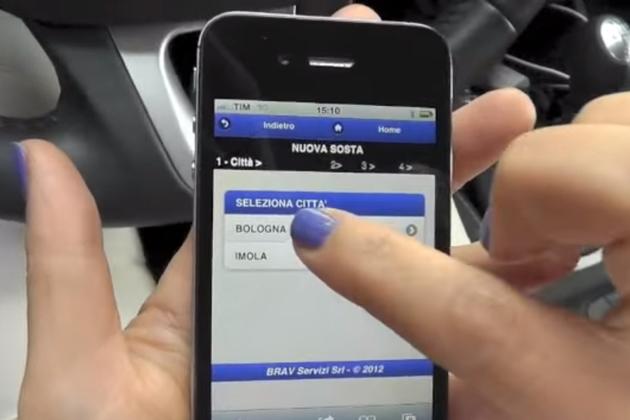 Il parcheggio ora si paga con l'app