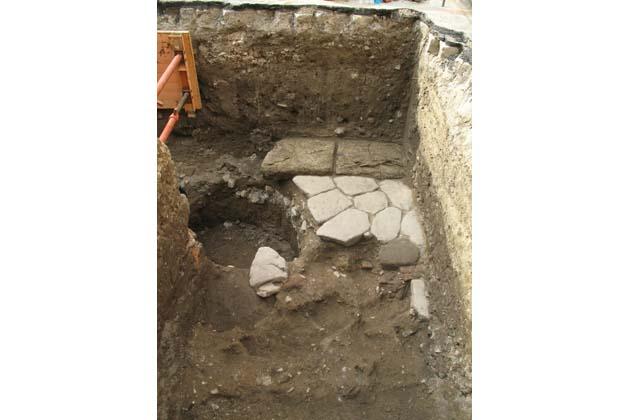 Archeologia, il cantiere del '300