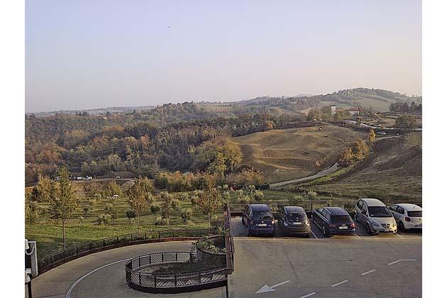 Ville per turisti di lusso sulle colline