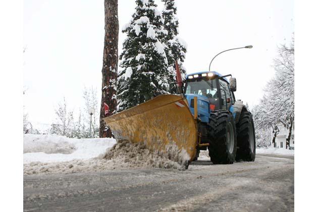 Come funziona il Piano neve del Comune