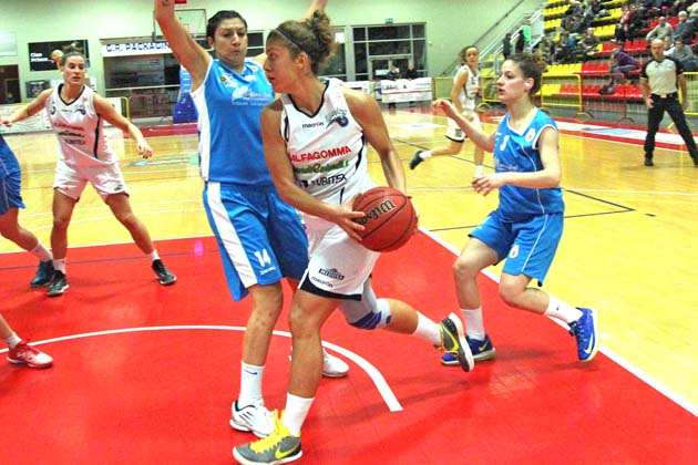 Basket rosa: Magika sbanca Viareggio