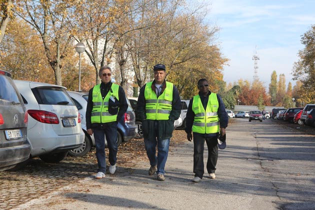 Trenta volontari civici in città