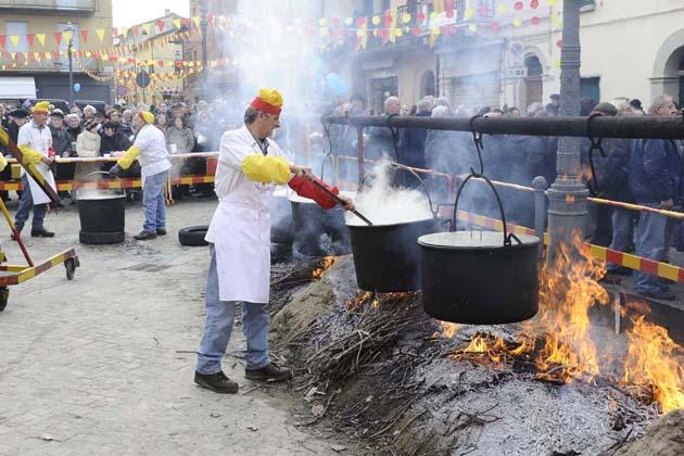 Carnevale, polenta e maccheroni