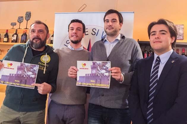 """""""Castellani come noi"""" per la beneficenza"""
