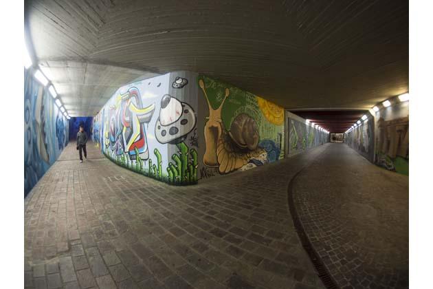 Restart inaugura la galleria d'arte urbana