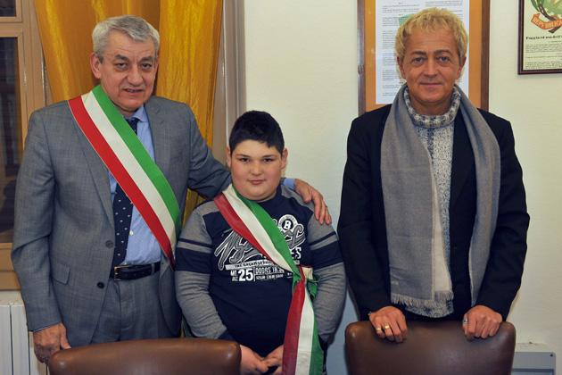 Nicholas Ciordo, sindaco dei ragazzi