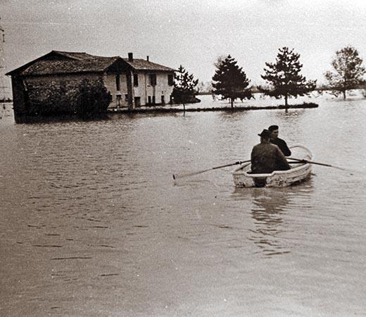 L'alluvione a Sesto Imolese