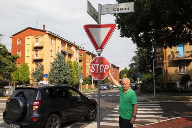 Via Casoni, è deciso: platee rialzate per attraversare
