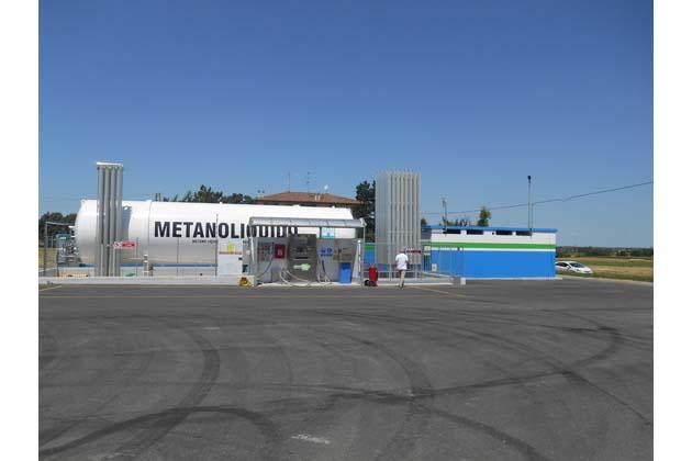 La novità del metano liquido per i camion