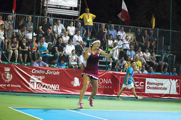 Tennis, internazionali femminili al Tozzona