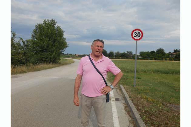 Asfalto in via Magnani e in via Serotti