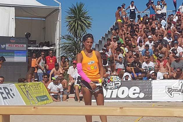 Beach tennis: Gasparri argento mondiale