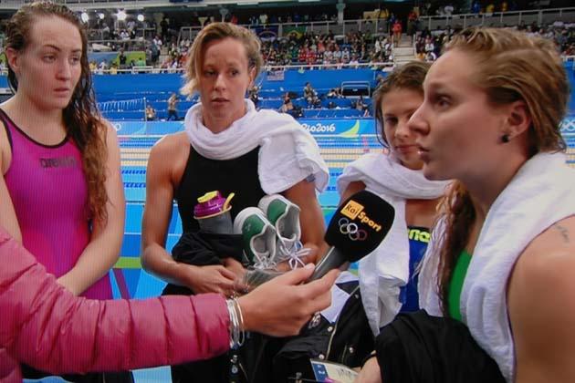 Olimpiadi: staffetta in finale