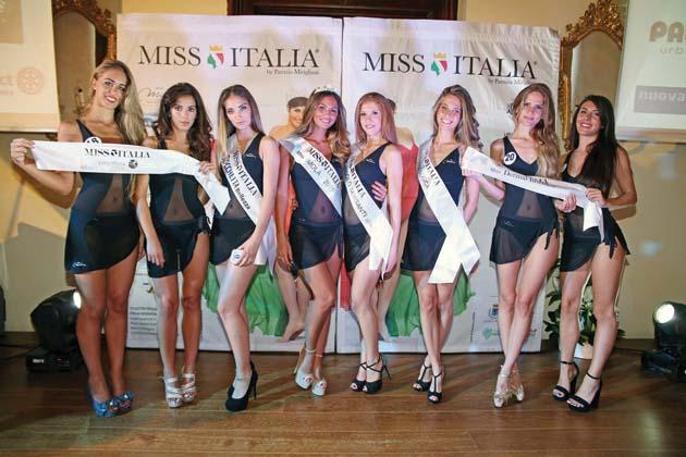 Miss Italia in piazza Matteotti
