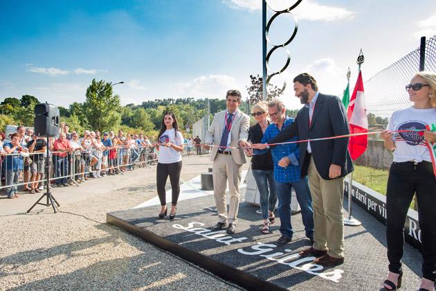 Inaugurato il nuovo memoriale dedicato a Gilles Villeneuve