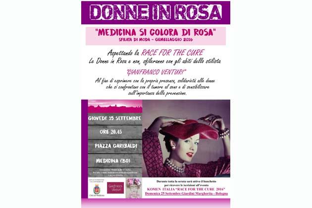 """Per la Festa del Gemellaggio sfilano anche le """"Donne in Rosa"""""""