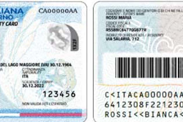 Nuova carta d'identità elettronica dal 16 settembre