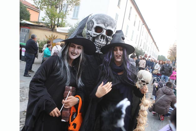 Halloween e sapori a porta Montanara