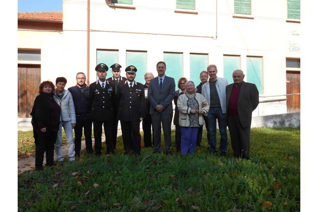 "Spazzate Sassatelli festeggia i carabinieri e il ""tamtam"""