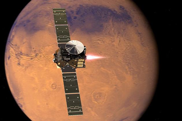 Il favoloso mondo di Marte al radiotelescopio
