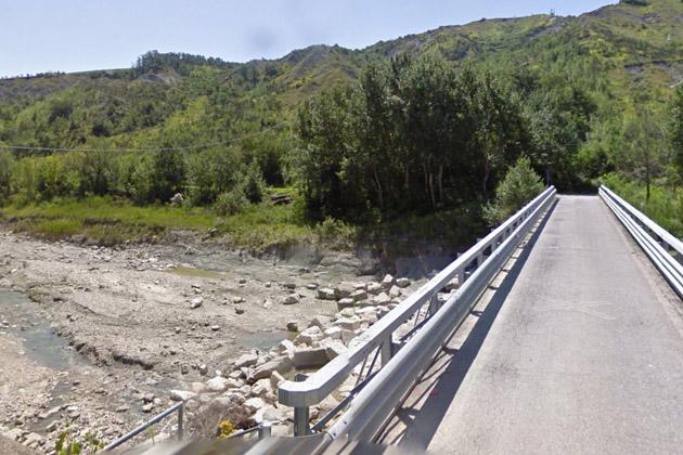 Chiuso il ponte sul Sillaro in via del Mulino