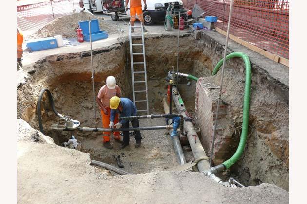 Hera sostituisce l'acquedotto in via Bel Poggio e Ponticelli Pieve