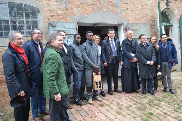Tirocinio con le capre e l'Università per i richiedenti asilo