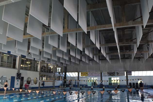Una nuova piscina al posto di quella vecchia
