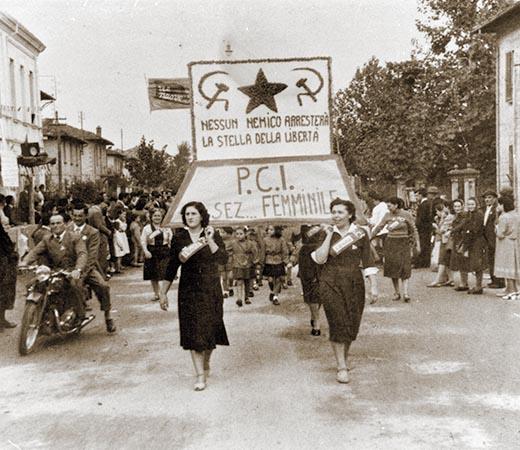 Donne di Bubano alla Festa de l'Unità