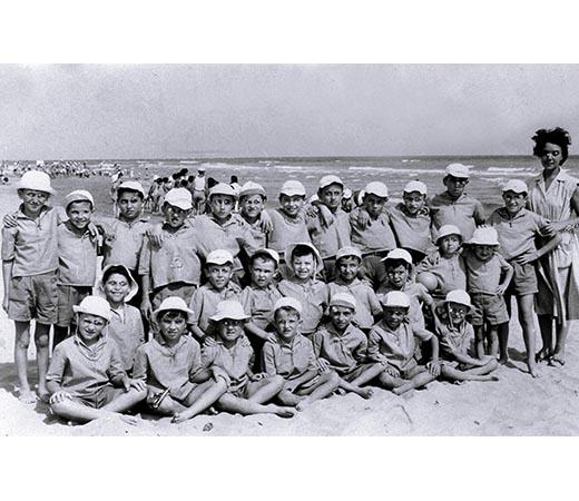 La colonia marina del 1957