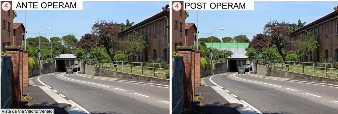 Barriere anti-rumore lungo i binari della ferrovia per proteggere le case