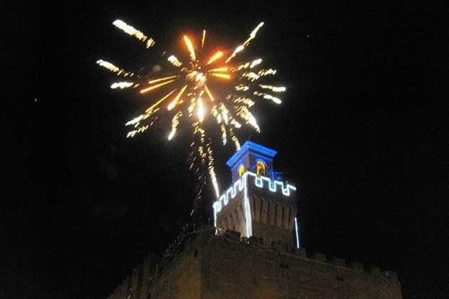 Capodanno, a Castello i fuochi d'artificio dal Cassero