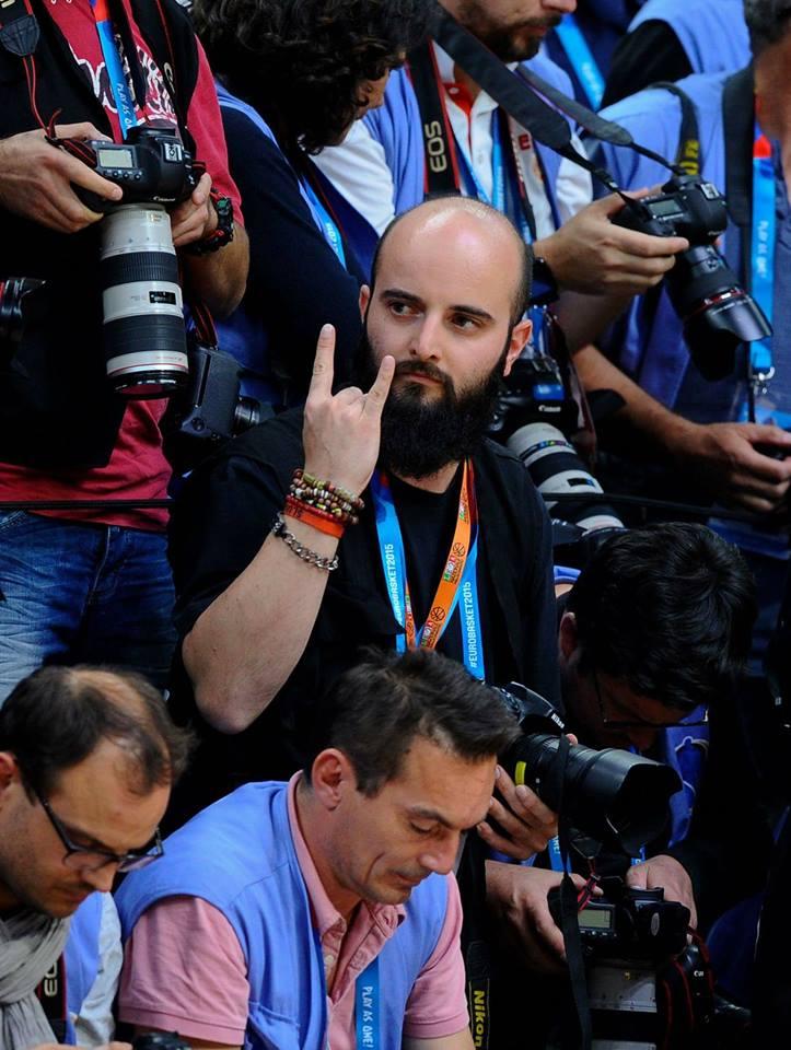 Basket, Matteo Marchi alla prima da fotografo ufficiale Nba